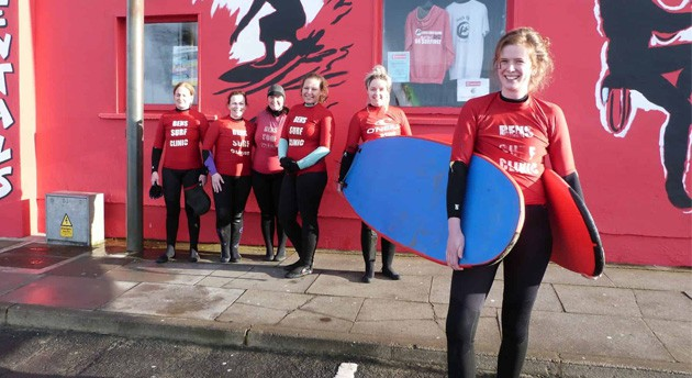Beginners and Improver Surf Lessons Ireland, Bens Surf Gallery